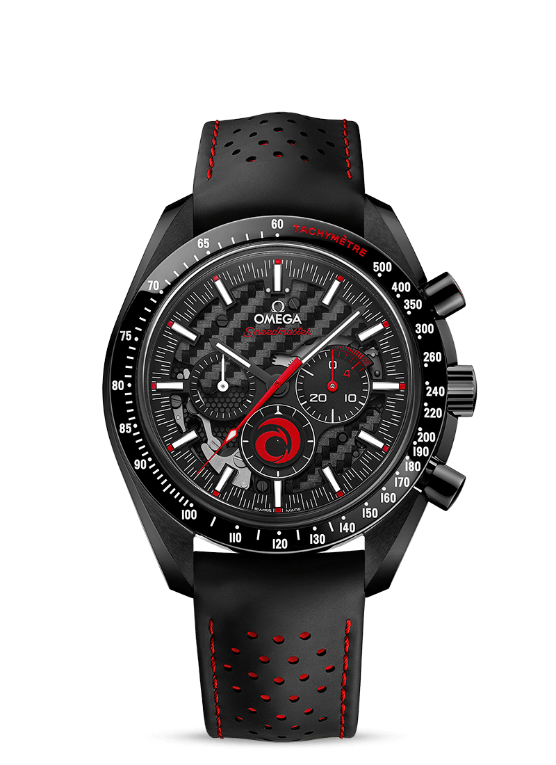 스피드마스터 문워치 Team Alinghi - SKU 311.92.44.30.01.002 Watch presentation