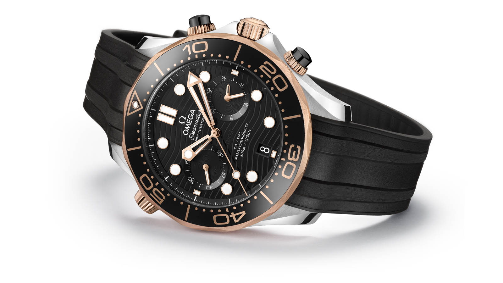 The Seamaster Diver 300M Chronograph Collection